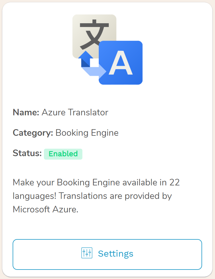 Hotel Booking Engine Your booking engine will appear in the natural language for any visitor and will display your localized description, if there is one available
