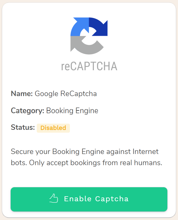 Google reCAPTCHA is a free security service that protects your websites from spam and abuse. It uses advanced risk analysis techniques to tell humans and bots apart.