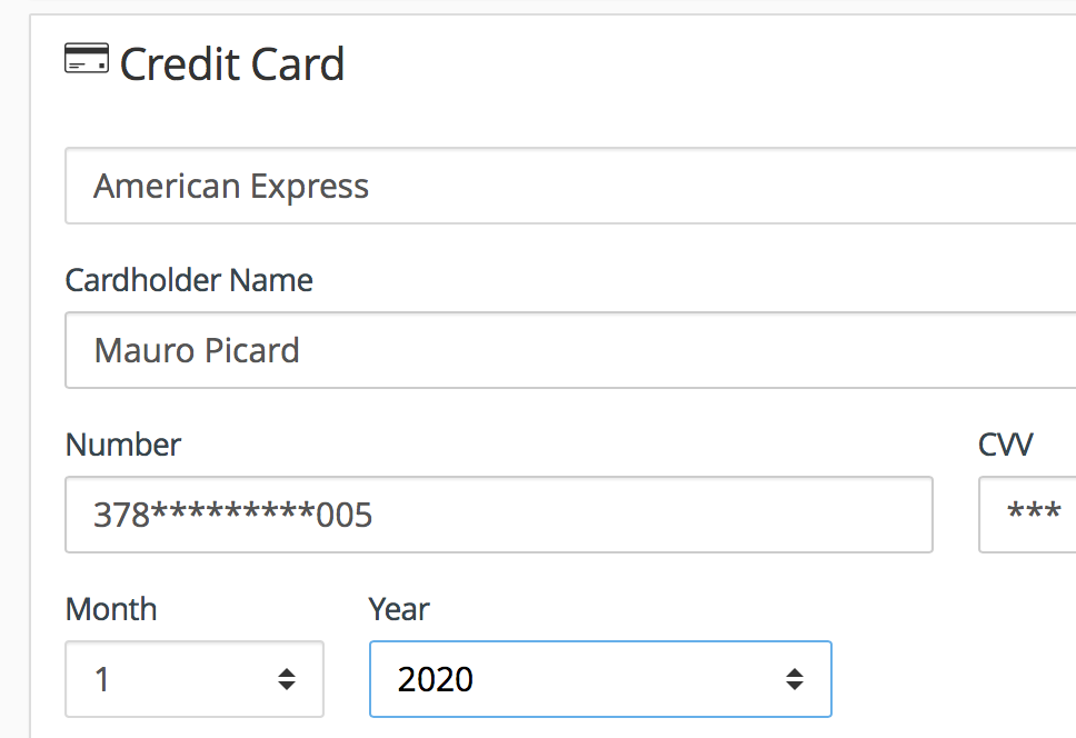 Credit Cards, Enable credit cards to secure bookings from your hotel website booking engine
