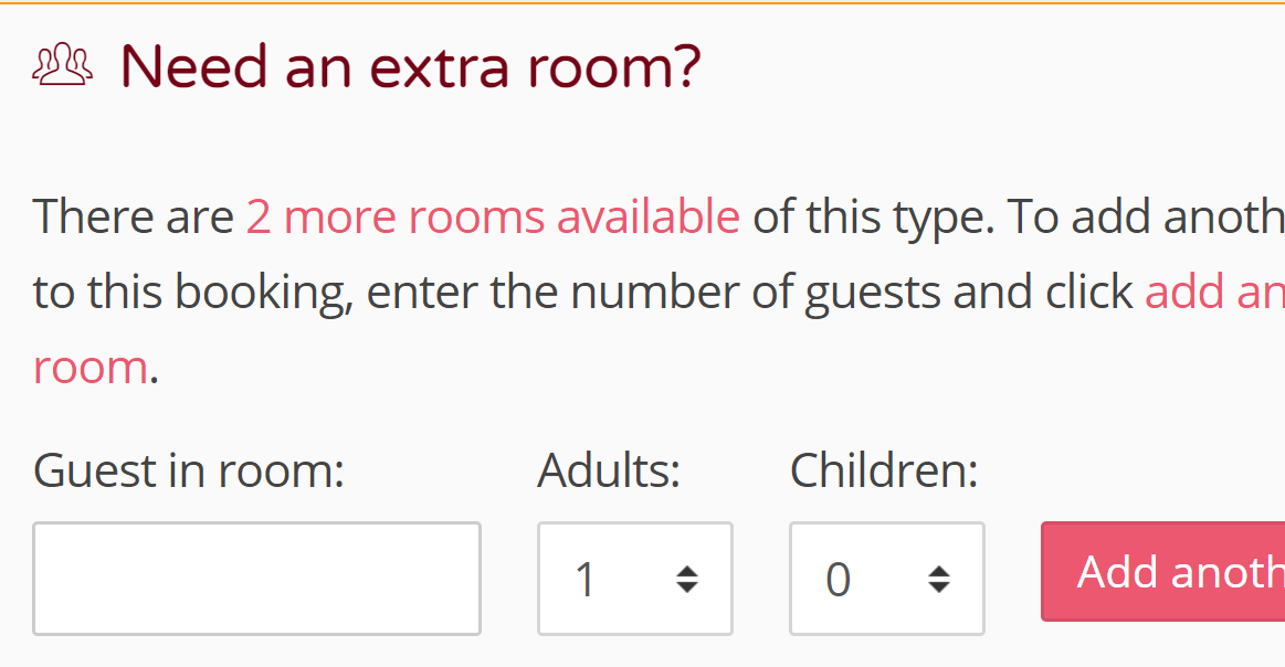 Sell hotel rooms